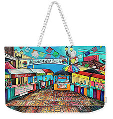 Historic Market Square Weekender Tote Bag
