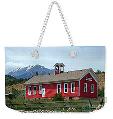 Historic Maysville School In Colorado Weekender Tote Bag