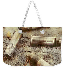 Weekender Tote Bag featuring the photograph Historic Military Still by Jorgo Photography - Wall Art Gallery