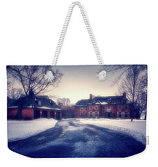 Weekender Tote Bag featuring the photograph Historic Neenah Home by Joel Witmeyer