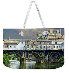 Historic Pulteney Bridge Weekender Tote Bag