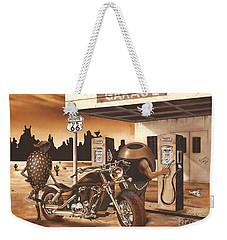 Historic Route 66 Weekender Tote Bag
