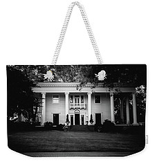 Weekender Tote Bag featuring the photograph Historic Southern Home by Doug Camara