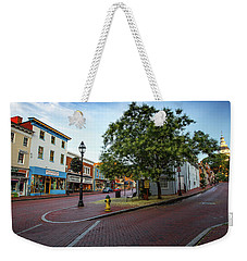 Historic Streets Weekender Tote Bag