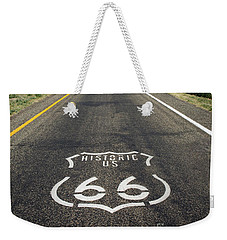 Historica Us Route 66 Arizona Weekender Tote Bag