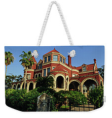 Weekender Tote Bag featuring the photograph Historical Galveston Mansion by Tikvah's Hope