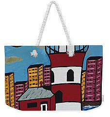 Historical Michigan Lighthouse Weekender Tote Bag