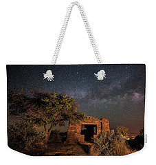 Weekender Tote Bag featuring the photograph History Under The Stars by Melany Sarafis