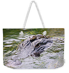 Hitchin' A Ride. Weekender Tote Bag