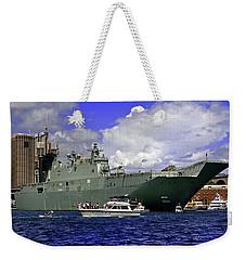 Hmas Adelaide IIi Weekender Tote Bag