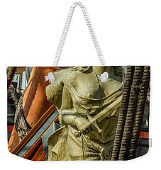 Weekender Tote Bag featuring the photograph Hms Surprise by Bill Gallagher
