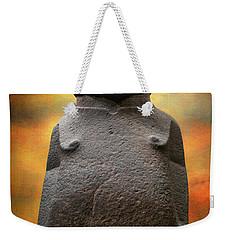 Weekender Tote Bag featuring the photograph Hoa Hakananaia by Adrian Evans