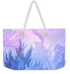 Frosty Morning Weekender Tote Bag