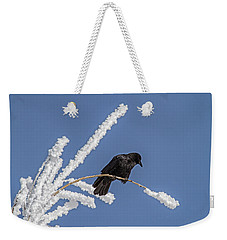 Hoarfrost And The Crow Weekender Tote Bag by Alana Thrower