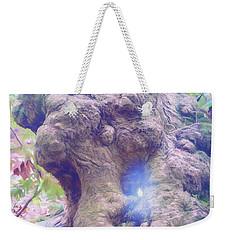 Weekender Tote Bag featuring the photograph Hobbit House by Jean OKeeffe Macro Abundance Art