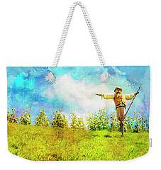 Hobbit Scarecrow Weekender Tote Bag