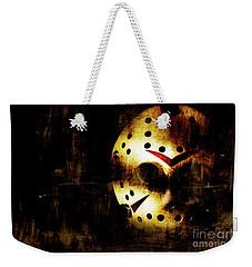 Hockey Mask Horror Weekender Tote Bag by Jorgo Photography - Wall Art Gallery