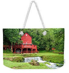 Hodgson Water Mill Weekender Tote Bag by Cricket Hackmann
