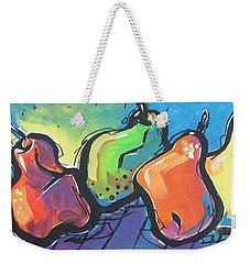 Hoedown Weekender Tote Bag by Terri Einer