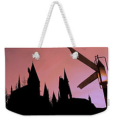 Weekender Tote Bag featuring the photograph Hogwarts Castle by Juergen Weiss