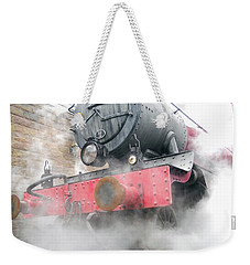 Weekender Tote Bag featuring the photograph Hogwarts Express Train by Juergen Weiss