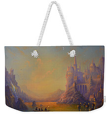 Hogwarts Castle Weekender Tote Bag by Joe Gilronan