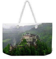Hohenwerfen Castle Weekender Tote Bag by Sheila Ping