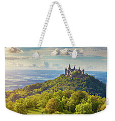 Hohenzollern Castle Sunset Weekender Tote Bag by JR Photography