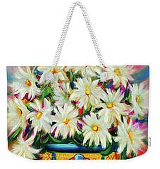 Hola Daisies Weekender Tote Bag
