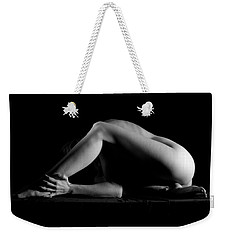 Weekender Tote Bag featuring the photograph Hold It by Joe Kozlowski