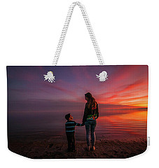 Hold My Hand Little Brother Weekender Tote Bag