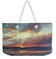 Holding On A Little Longer Weekender Tote Bag by Valerie Travers