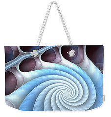 Weekender Tote Bag featuring the digital art Holding Tight by Anastasiya Malakhova