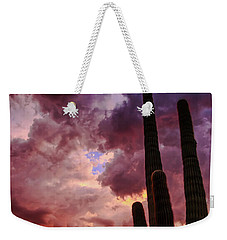 Weekender Tote Bag featuring the photograph Hole In The Sky by Rick Furmanek