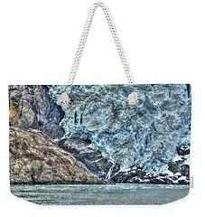 Holgate Glacier Hdr Weekender Tote Bag by Richard J Cassato
