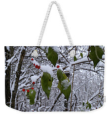 Holiday Colors Weekender Tote Bag