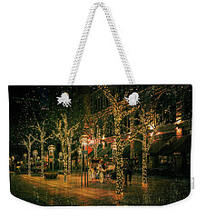 Holiday Handsome Cab Weekender Tote Bag