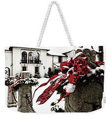 Holiday Home Weekender Tote Bag