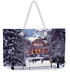 Holiday In The Village Weekender Tote Bag