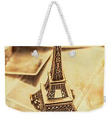 Holiday Nostalgia In Vintage France Weekender Tote Bag