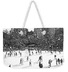 Holiday Skaters Weekender Tote Bag