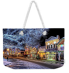 Holiday Village, Leavenworth, Wa Weekender Tote Bag by Greg Sigrist