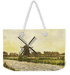 Holland - Windmill Weekender Tote Bag