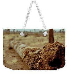Hollow Lines Weekender Tote Bag