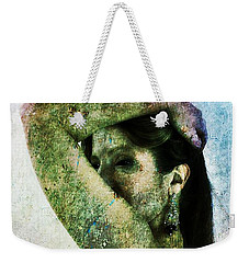 Weekender Tote Bag featuring the digital art Holly 2 by Mark Baranowski