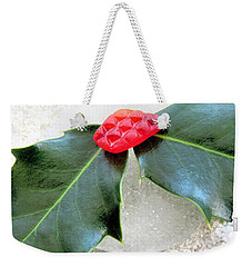 Holly And Sea Glass  Weekender Tote Bag