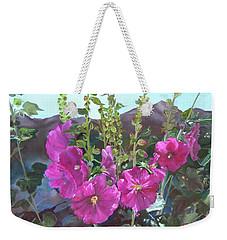 Hollyhock Necklace Weekender Tote Bag