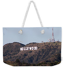 Hollywood And Helicopters Weekender Tote Bag