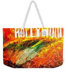 Hollywood Burning Weekender Tote Bag