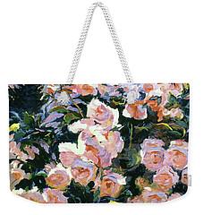 Hollywood Cottage Garden Roses Weekender Tote Bag